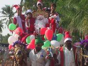 Weihnachten auf indisch